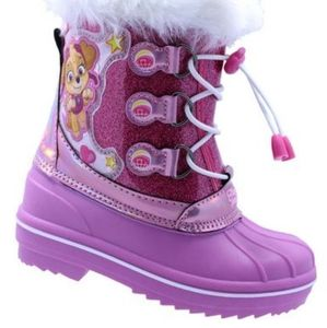 Paw Patrol Winter Boots For Toddler Girls